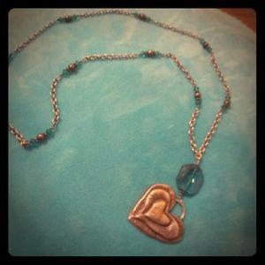 Express vintage long necklace